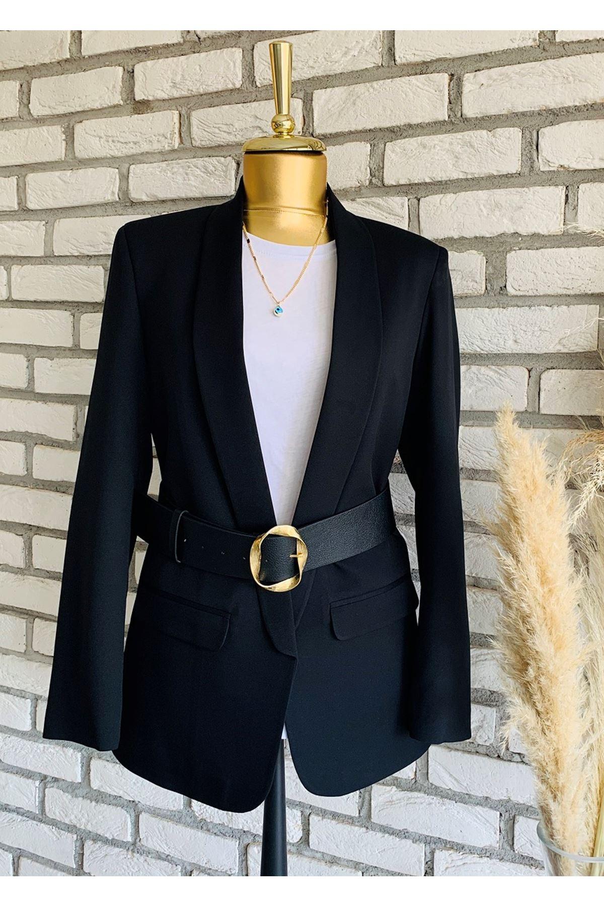 Zara Model Siyah Kemer