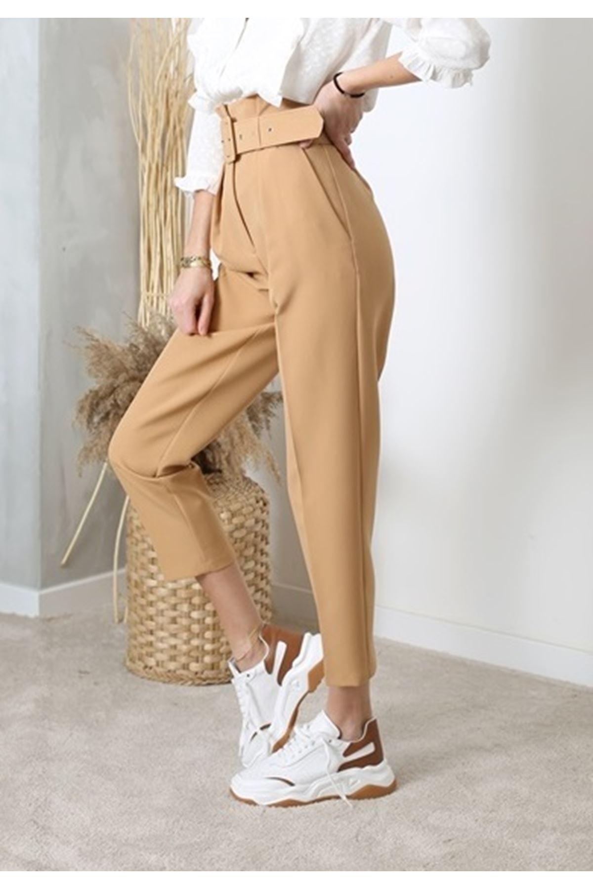 Camel Havuç Pantolon