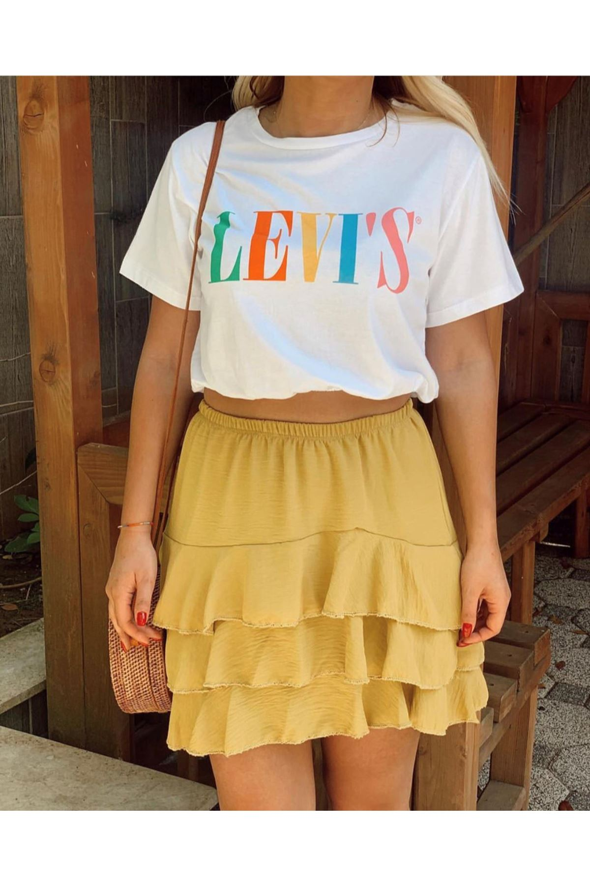 Levis beyaz tshirt