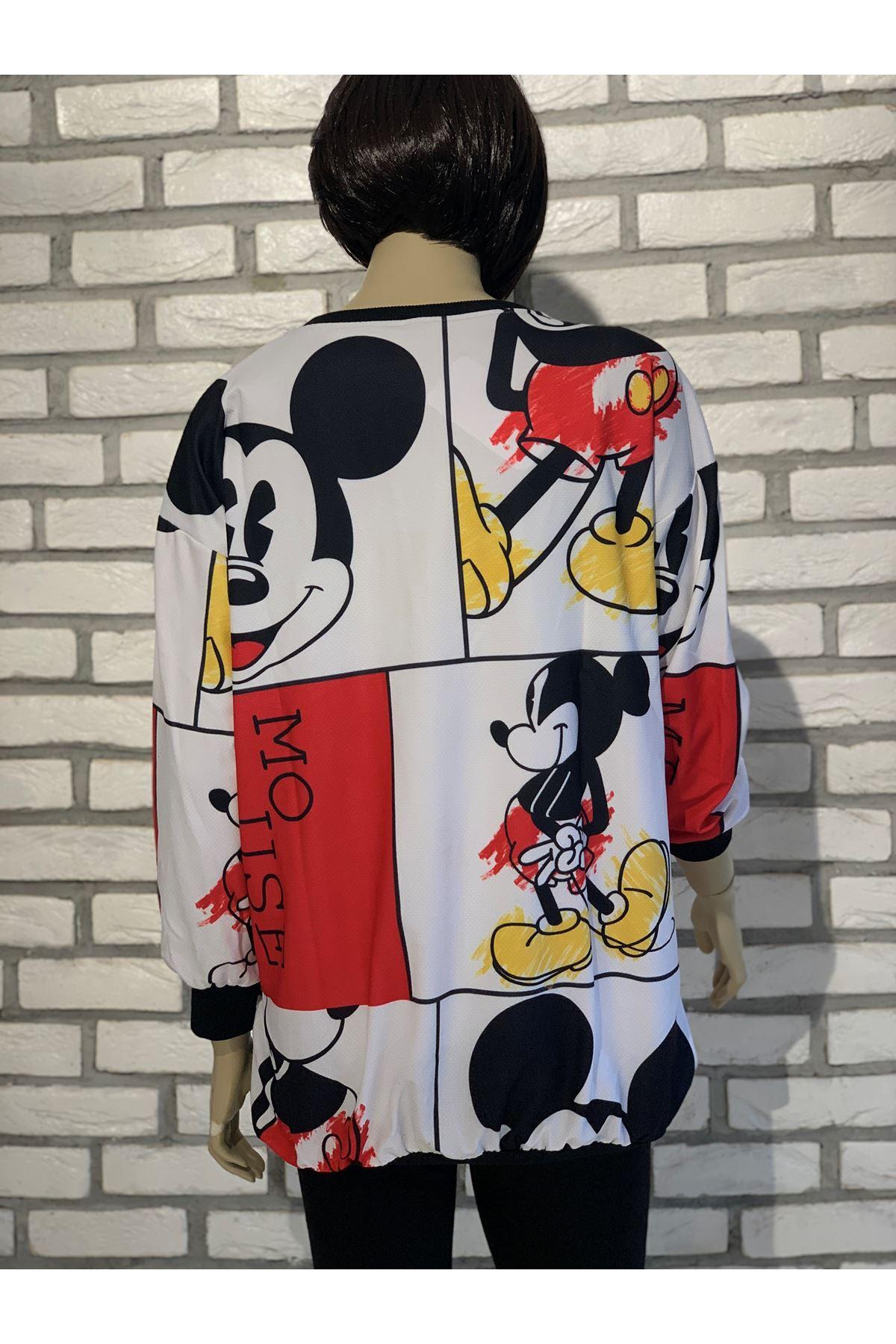Mickey detaylı sweat